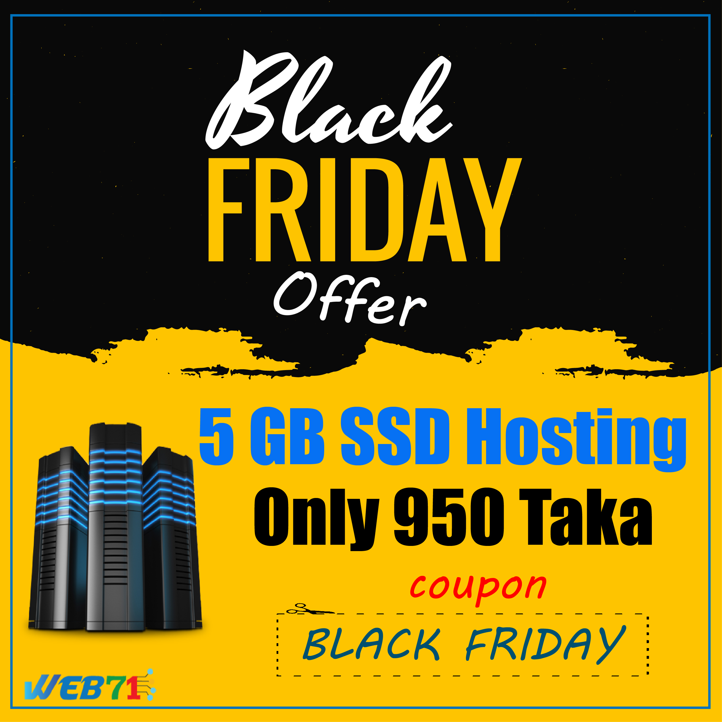Black Friday Web Hosting Offer